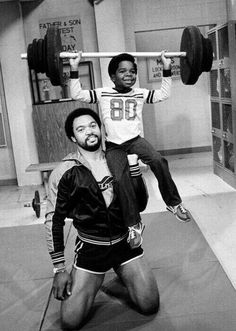 Iconic 80's: Mr. October & Gary.