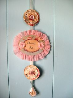 Shabby Chic Charming Banner by Brandywineboutique, via Flickr