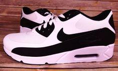 Nike Air Max 90 Ultra 2.0 Essential 875695-100 Mens Sz 10.5 White Black ad95a76c6