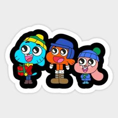 Cartoon Drawings, Cartoon Art, Cartoon Characters, Cartoon Stickers, Cool Stickers, Amazing Gumball, Macbook Stickers, Doodle Lettering, Image Fun