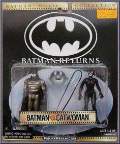 Kenner Batman Movie Collection Batman Reurns Batman vs. Catwoman 2-Pack 1997