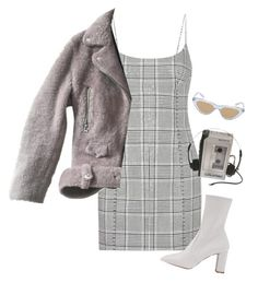 """""""give it time"""" by chanelandcoke ❤ liked on Polyvore featuring Alexander Wang, Acne Studios, Le Specs and Sony"""