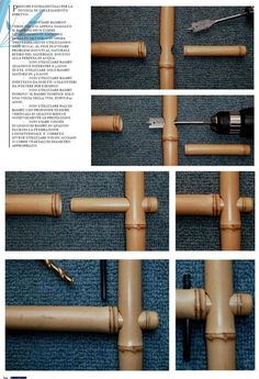 bamboo flooring Some Easy DIY Bamboo Projects - No matter you are looking to make some large structure or small computer cases, bamboo will be your natural choice because it is lightweight, strong a. Diy Bamboo, Bamboo Roof, Bamboo Art, Bamboo Crafts, Bamboo Fence, Bamboo Ideas, Wire Fence, Bamboo House Design, Bamboo Building
