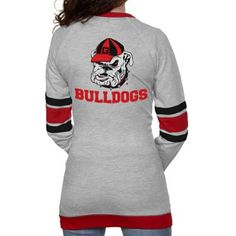 Georgia bulldogs cardigan