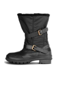 Burberry Shearling-Lined Snow Boots, $450