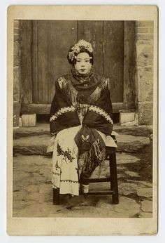 Unidentified Photographer - [Portrait of Chinese Woman]