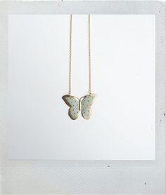 Butterfly Pendant - Dije mariposa