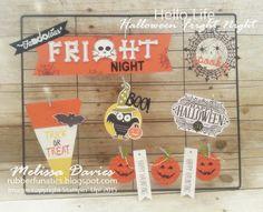Stampin' Up! Hello Life FaBOOlous Fright Night by Melissa Davies @rubberfunatics #rubberfunatics #stampinup