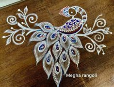 Rangoli Designs Latest, Rangoli Designs Flower, Rangoli Border Designs, Small Rangoli Design, Colorful Rangoli Designs, Rangoli Designs Diwali, Rangoli Designs Images, Kolam Rangoli, Beautiful Rangoli Designs