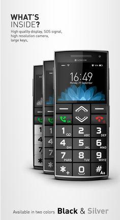 mobile phone, Mobiltelefon smartphone senior