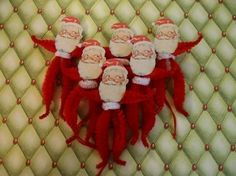 Hey, I found this really awesome Etsy listing at https://www.etsy.com/listing/61280797/vintage-style-feather-tree-santa