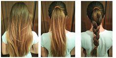 Muy buenas ideas de coletas con trensas, para rubias o morochas, con cabello corto o largo, tenemos muchas ideas para ti. Buenas Ideas, Hair Styles, Beauty, Pig Tails, Hair, New Hairstyles, Blondes, Be Nice, Make Up