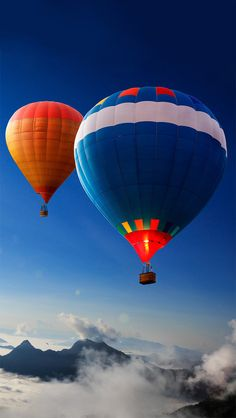 Customize your iPhone 5 with this high definition Ballons in Sky wallpaper from HD Phone Wallpapers! Tela Do Iphone, Iphone 7, Balloon Rides, Balloon Wall, Air Ballon, Hot Air Balloon, Greys Anatomy Derek, Qhd Wallpaper, Mobile Wallpaper