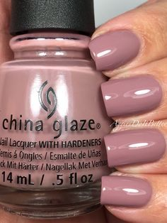 """China Glaze- """"My Lodge or Yours"""""""