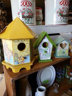 Map Bird House
