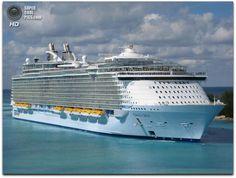 """Urobte si prechádzku po nádhernej výletnej lodi """"Oasis of the Seas"""""""