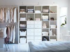 Kledingkast Ikea : Wat kun je met… kallax / expedit kasten
