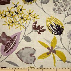Braemore Ray of Sun Iris - Discount Designer Fabric - Fabric.com