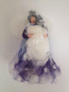 Fata in lana fiaba Frau Holle di CreazioniMonica su Etsy