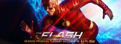 #TheFlash Season Premiere Thursady, October 12 at 9|8c on The CW