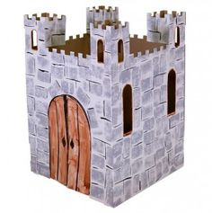 Castle playhouse! Kids could use a box to make their own castle after reading magic treehouse book