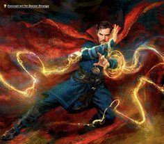 Concept Art for Doctor Strange