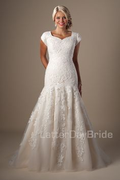 Modest Wedding Dresses : Sullivan. Latter Day Bride, Gateway Bridal & Prom