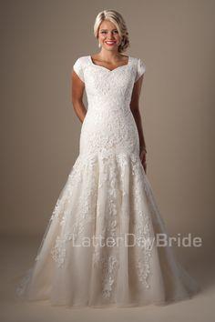 Latter day bride on pinterest modest wedding dresses for Latter day bride wedding dresses
