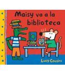 A la biblioteca, la Maisy ha trobat el racó perfecte per llegir el seu llibre de peixos. Però, quantes distraccions per agafar un llibre en préstec! La Maisy descobreix tot el que pot fer a la biblioteca: navegar per Internet, escoltar música, fotocopiar el seu dibuix preferit, llegir o mirar els peixos a la peixera. I a més l'hora del conte, un moment divertit. La visita de la Maisy a la biblioteca resulta ser tota una aventura.
