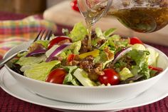 3 Easy Salad Dressing Recipes You Can Make at Home Salad Dressing Recipes, Salad Recipes, Salad Dressings, Healthy Eating Recipes, Cooking Recipes, Amish Recipes, Free Recipes, Cooking Tips, Warm Bacon Dressing