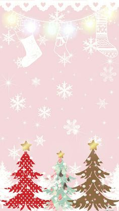 Pink Xmas Wallpaper, Christmas Phone Wallpaper, Pretty Phone Wallpaper, Holiday Wallpaper, Iphone Background Wallpaper, Christmas Salon, Pink Christmas, Christmas And New Year, Christmas Holidays