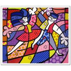@Overstock.com - When you want to add bright, brilliant colors and contemporary art to your decor, enjoy the unique presentation of this reproduction print art by Romero Britto. The abstract design is a nice addition to an art collection, and a great conversation piece.http://www.overstock.com/Home-Garden/Romero-Britto-Fun-Passion-Licensed-Reproduction-Print-Art/5698388/product.html?CID=214117 $17.99