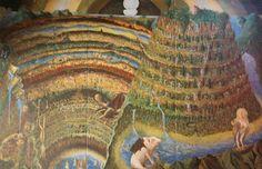 Eddy Van Den Bossche - Zelfbereide olieverf op linnen - Divina Comedia Humana Les Oeuvres, Den, Painting, Artist, Painting Art, Paintings, Draw