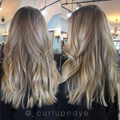 Foilayage shadow root Hairpainting balayage blonde hair - Women Style World Hair Color Balayage, Hair Highlights, Dark Blonde Balayage, Baylage Blonde, Dark Blonde Highlights, Hair Colour, Blonde Hair Looks, Blonde On Dark Hair, Black Hair