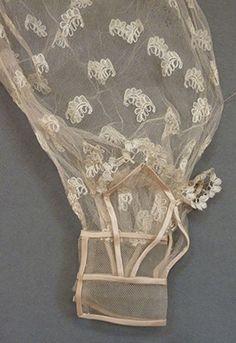 Pair of Gigot Sleeves  1820's