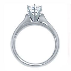 0.75ct Brilliant Round Natural Diamond Rings Solitaire Gold 14k