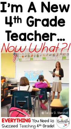 If you are a new fourth grade teacher or returning back to teaching grade, you'll find everything you need to be successful here! PLUS–you can grab FREE grade printables to use in your classroom this week. 5th Grade Teachers, 4th Grade Classroom, New Teachers, Elementary Teacher, Elementary Schools, Classroom Decor, Classroom Libraries, Teachers Toolbox, Classroom Teacher