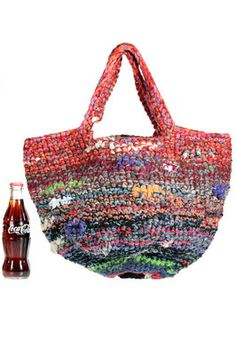 DANIELA GREGIS - Crochet Basket Shape Bag