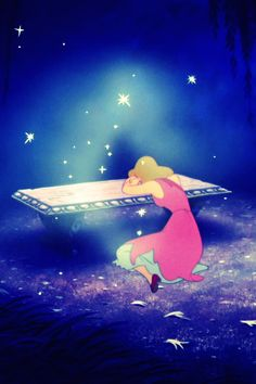 Cinderella- in a way we are all Cinderellas waiting for better things and better treatment in life and definitely waiting on our Prince! ♥