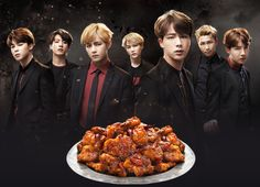 why does this look like a drama solely revolving around fried chicken