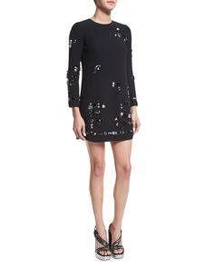 ysl patent wallet - Shannon Embellished Mini Skirt, Black, Size: XS - MLV | Mini ...