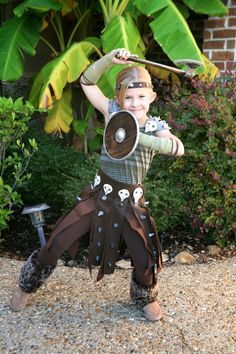 DIY Astrid costume, how to train your dragon, viking style!