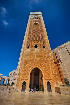 Hassan II Mosque . Casablanca