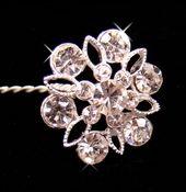 Crystal Bouquet Flower Accents|Floral Bouquet Jewelry|Floral Bouquet Jewels