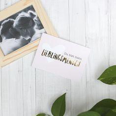 Wer ist euer Lieblingsmensch? <3 love postcard cuple