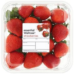 Strawberries essential Waitrose ($6.01) ❤ liked on Polyvore