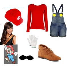 It's a little soon to think about but I'm definitely going to be Mario next Halloween!