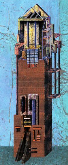 Efthymios Warlamis, Poetic Tower