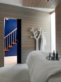 Love the tree hook idea....stylize tree more soft light underneath skoah skin spa- boston treatment room