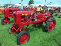 B.F. Anery wide front tractor
